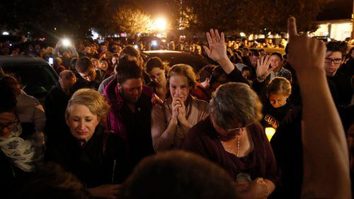 The 20-year-old, originally from Sydney, said the feeling of grief was palpable at a candlelit vigil for the victims.