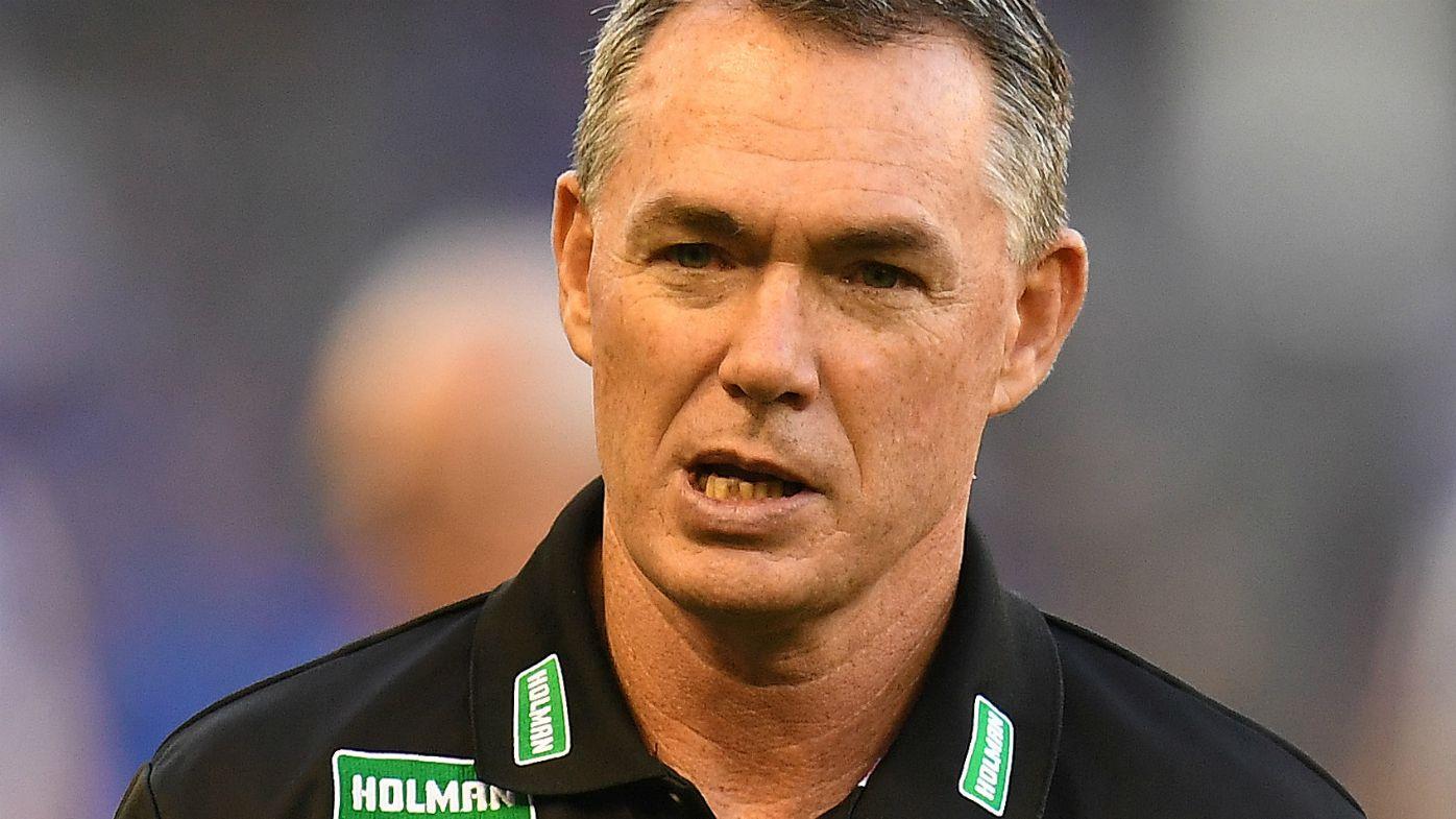 Coach of the Saints Alan Richardson