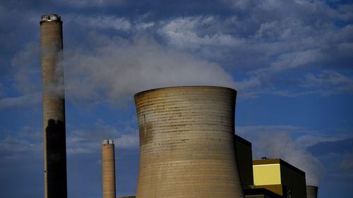 A coal power plant in the La Trobe Valley in Victoria.