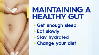 How to maintain a healthy gut.