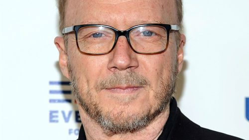 "Paul Haggis attends the premiere of ""Under The Gun"" in New York. (AAP)"