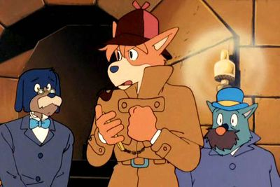 <b>The case:</b> Leave it to the wonderfully wacky world of Japanese anime to come up with a version of <i>Sherlock Holmes</i> where all the characters are anthropomorphic dogs. Interestingly, several eps of this series were directed by Hayao Miyazaki, the genius who went on to make modern-day classics<i> like My Neighbour Totoro</i> and <i>Spirited Away</i>.