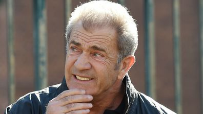 Mel Gibson in Sydney in July. (AAP)