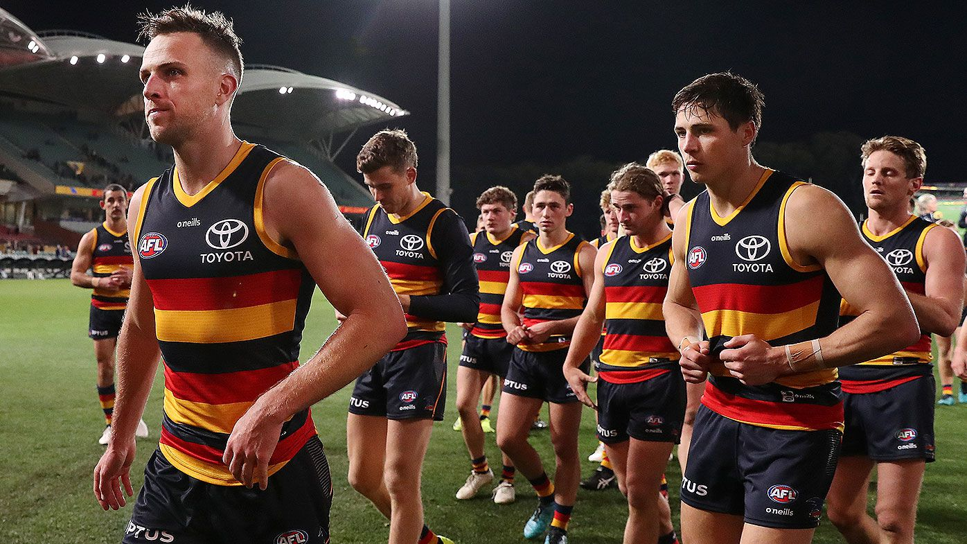 Adelaide Crows, Port Adelaide forced into frenzied dash to Victoria after chaotic day