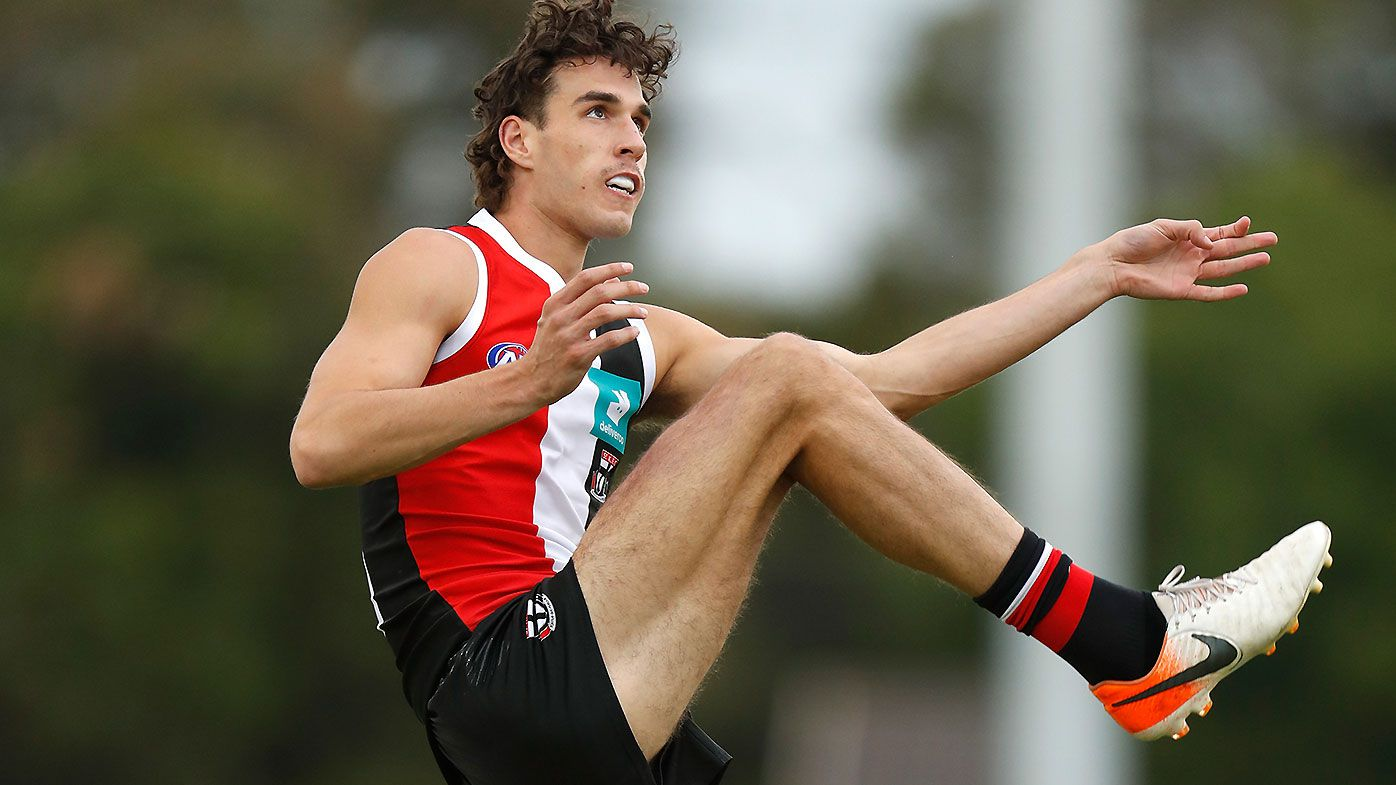 King to make Saints debut in AFL round one