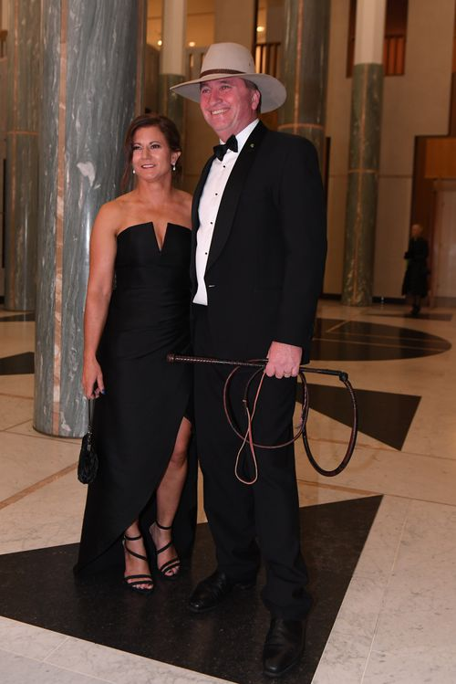 Barnaby Joyce and wife Natalie had been married for 24 years. (AAP)