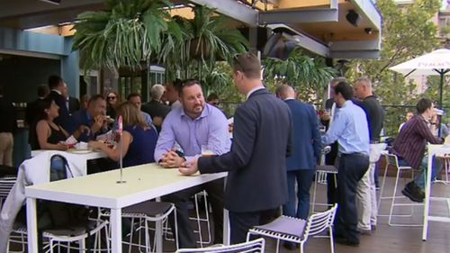 WA pub outdoor area filled with people