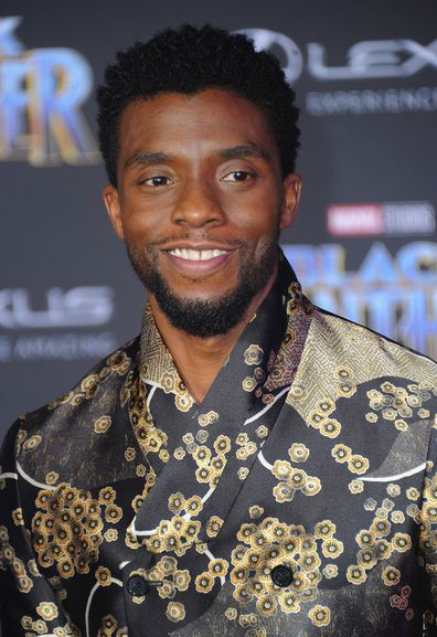 Chadwick Boseman, Hollywood premiere, Black Panther, 2018