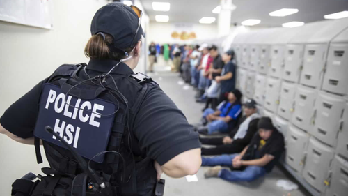 The HSI reportd that in addition to executing federal search warrants and seizing business records pertaining to the ongoing federal criminal investigation, deportation officers with ICE Enforcement and Removal Operations (ERO) in partnership with HSI detained approximately 680 removable aliens who were unlawfully working at the plants.