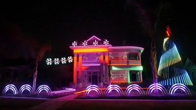 These Star Wars-themed Christmas lights will take you to the Dark Side