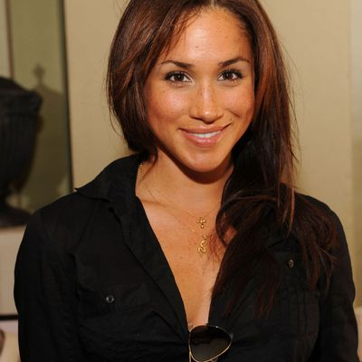 Meghan Markleattends the DPA pre-Emmy Gift Lounge, September 2009