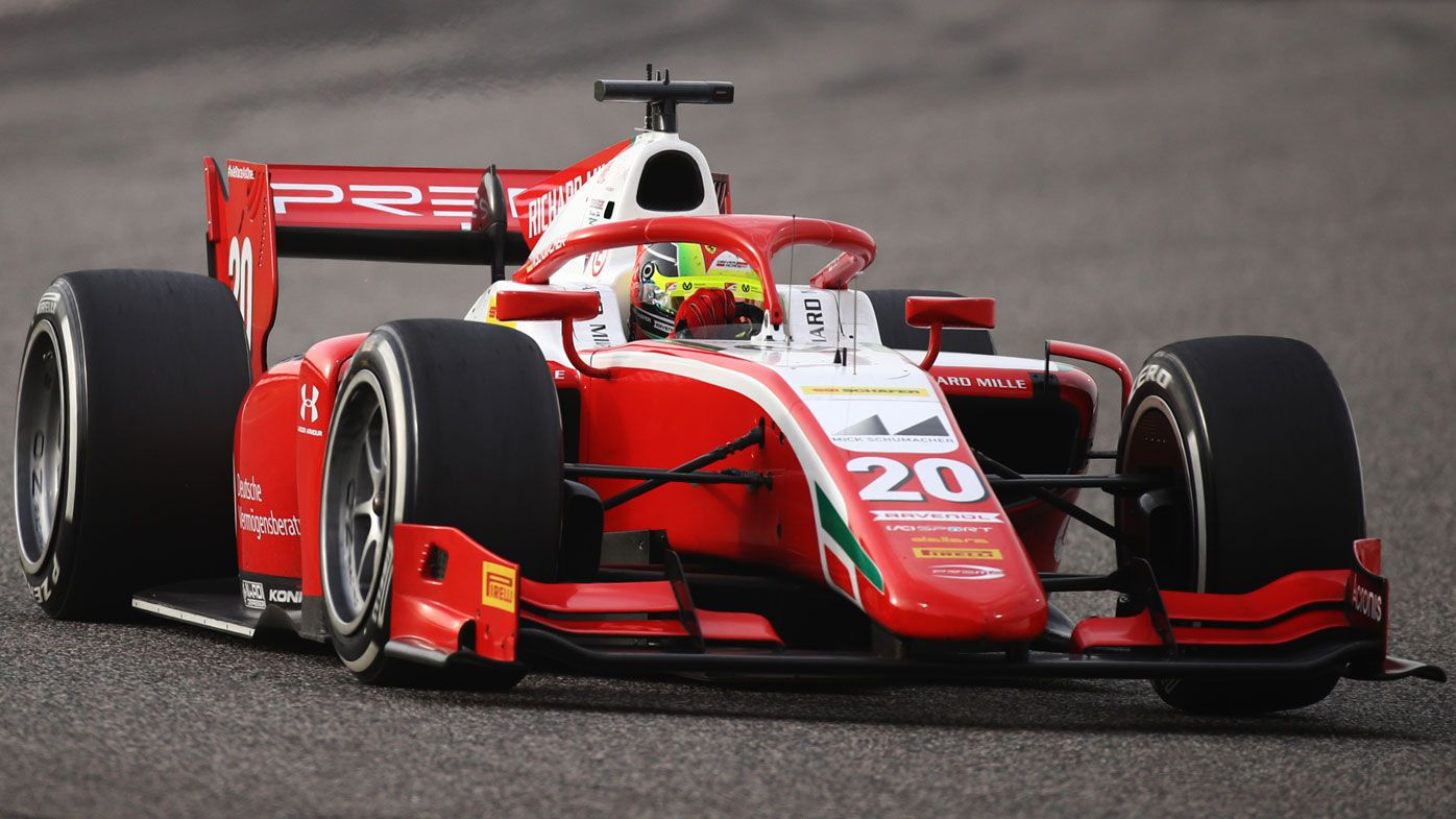 Mick Schumacher wins F2 championship before move to Formula One team Haas in 2021