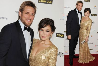 Celebrity chef Curtis Stone and <i>Eastwick</i> actress Lindsay Price