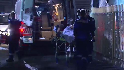 The 21-year-old was stabbed after a soccer match. (9NEWS)