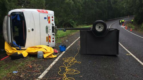 Taiwanese national killed in bus rollover on Great Ocean Road