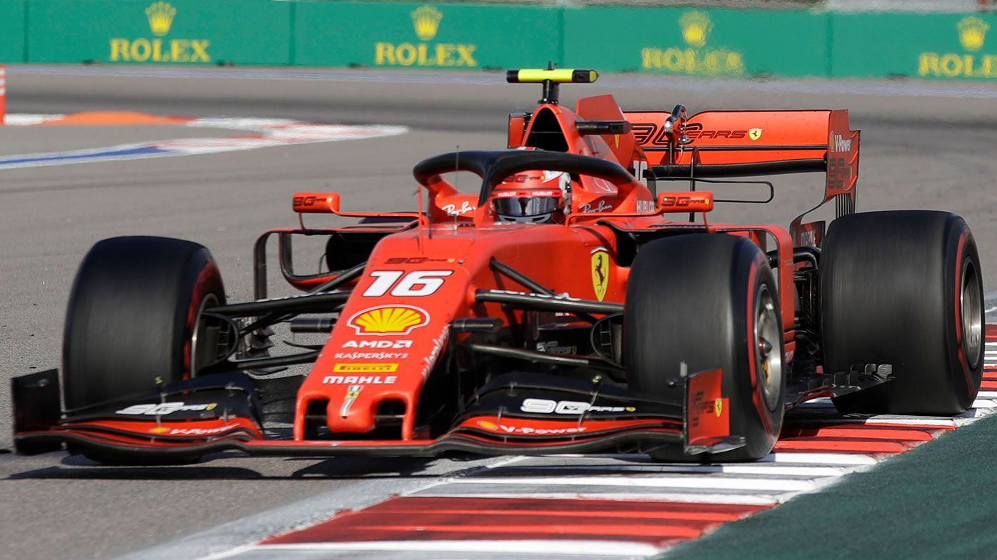Charles Leclerc has started his Ferrari career with a bang.