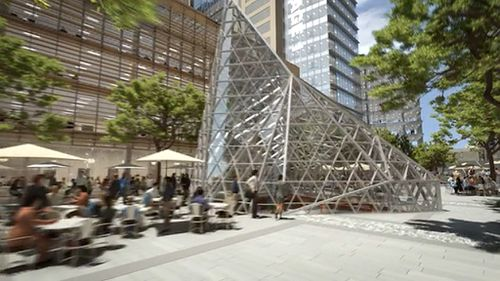 Another $8bn will be spent on office towers, residential buildings and a new University of Western Sydney campus. (Supplied)
