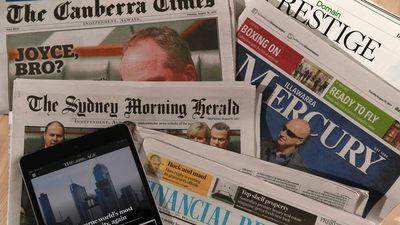 Fairfax Media loses $63.8 million