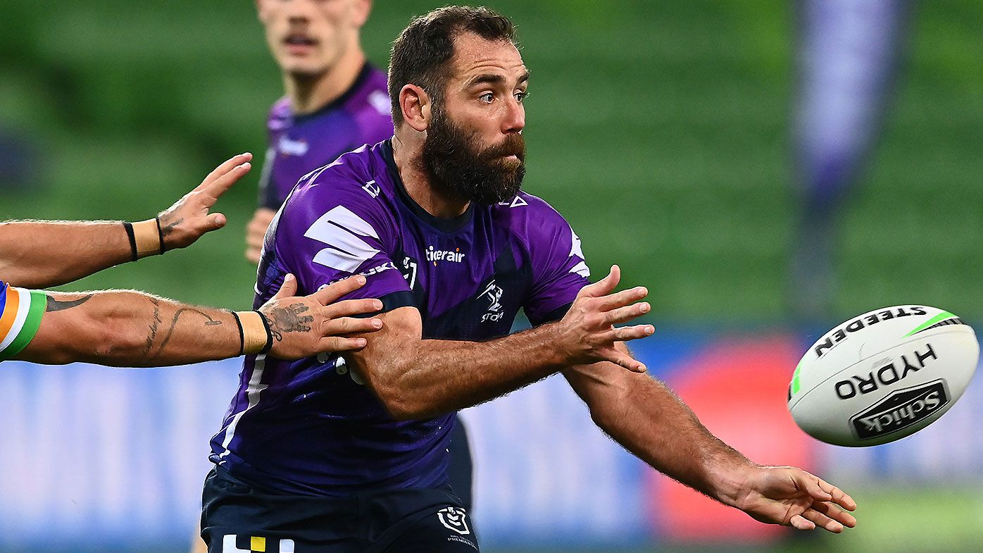 EXCLUSIVE: Andrew Johns calls for Cameron Smith position switch to ignite Storm