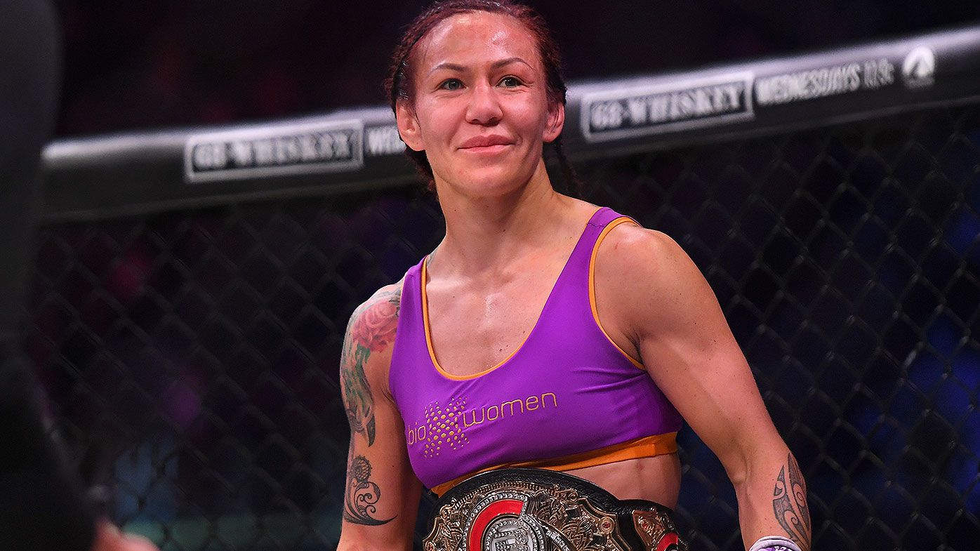 Cyborg creates MMA history after big TKO