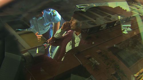 Salim Mehajer tries to leave the police station in a taxi before the driver recognises him and refuses the fare.