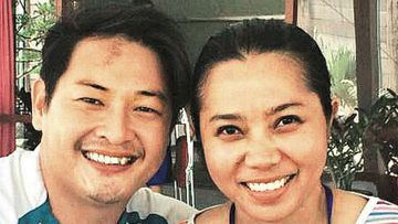 Bali Nine ringleader Andrew Chan has married fiancee Febyanti. (Supplied)