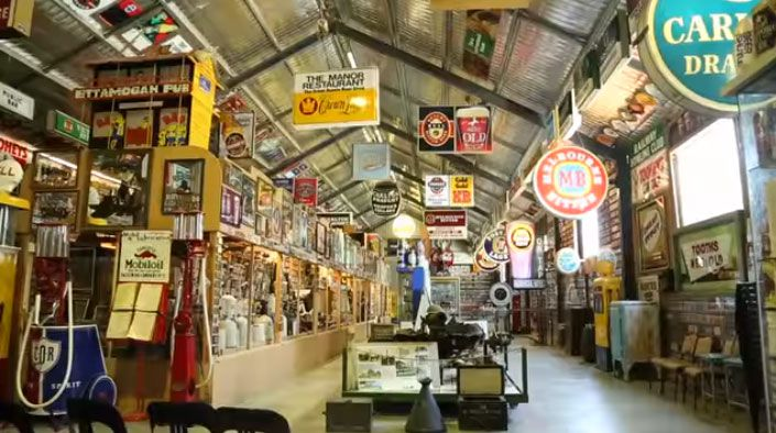 Man Cave Signs Perth : The great aussie beer shed and heritage farm museum