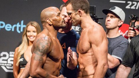 Yoel Romero Viciously Puts Luke Rockhold To Sleep With Brutal Punches