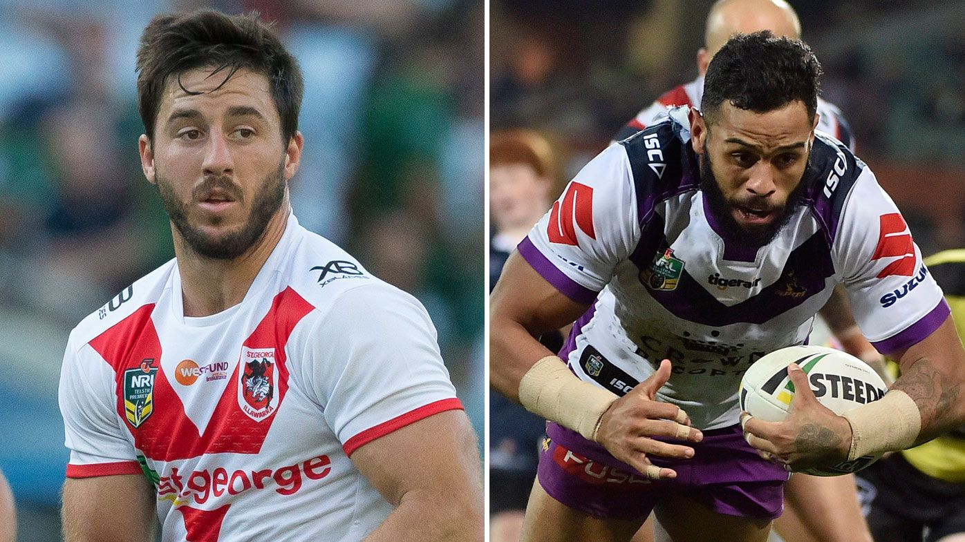Josh Addo-Carr and Ben Hunt