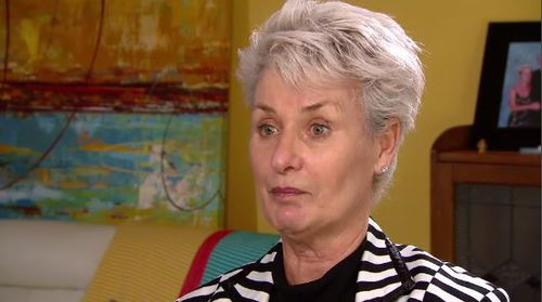 "Julie Eastlake said it was heartbreaking watching her husband ""fade away"". (9NEWS)"