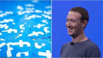 Facebook CEO Mark Zuckerberg has unveiled a new look and fresh features for the social media app.