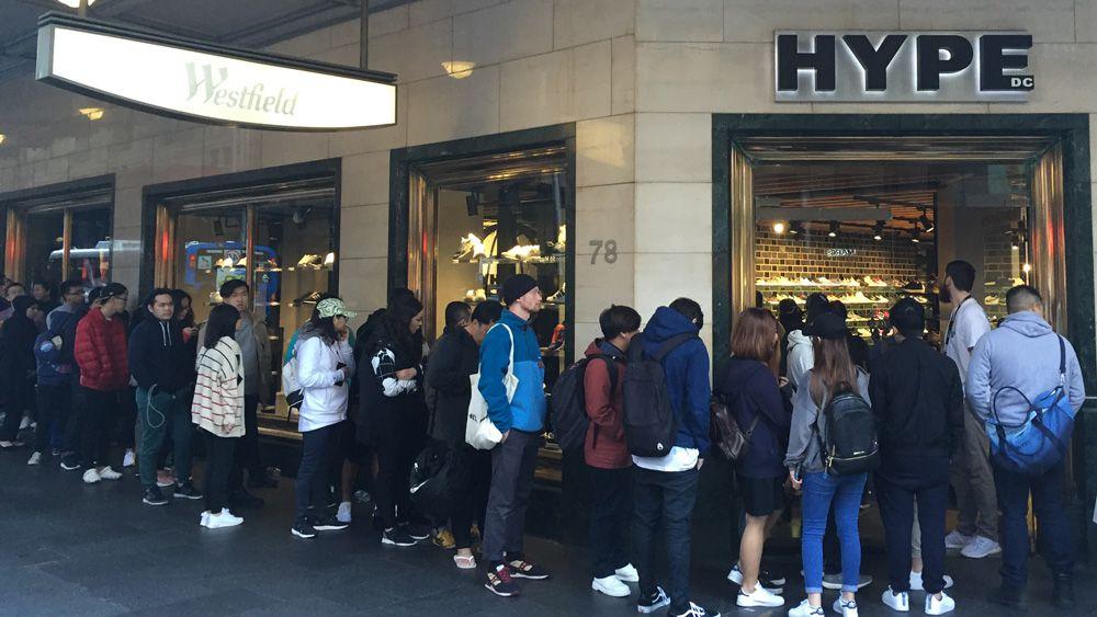 Sneaker freak out in Sydney