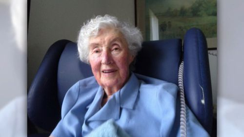 Mary Purcell, 91, was one of Benti's elderly victims. Picture: 9NEWS