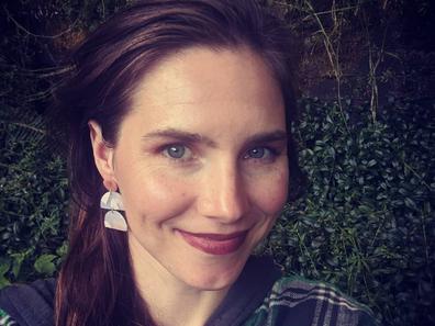 Amanda Knox Instagram tone-deaf tweet during the US election.