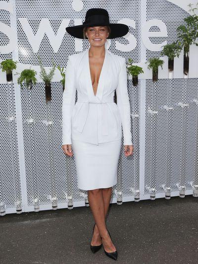 ModelLara Bingle attends, 2012
