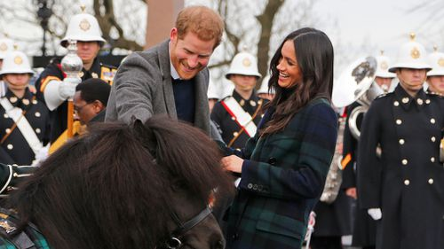 They are getting married at Windsor Castle on May 19. (AAP)