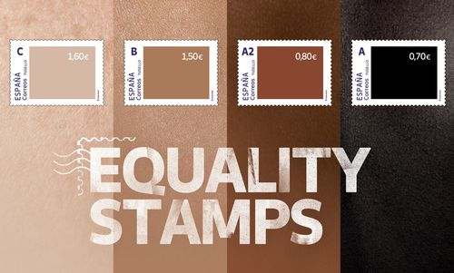 Spain criticised for unequally priced 'equality stamps'