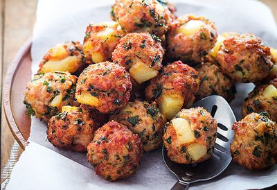 Polpette Italian meatballs
