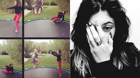 Kylie Jenner, Khloe Kardashian