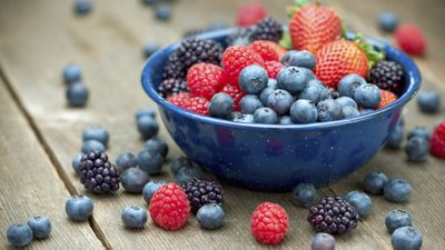<strong>...for fresh berries.</strong>