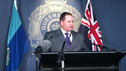 """Acting Detective Superintendent Stephen Blanchfield said he hoped the bust would """"make a dent"""" in the distribution of drugs. (9NEWS)"""