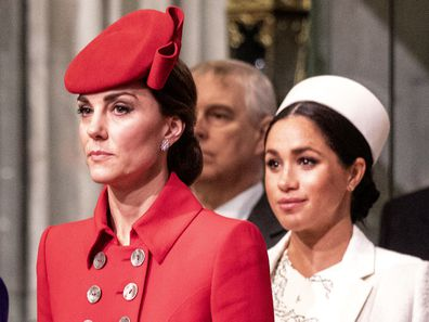 Meghan and Kate's greeting puts 'feud' rumour to bed