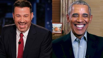 Jimmy Kimmel interviews Barack Obama