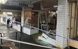 Car rams into woman while smashing through Montmorency coffee shop