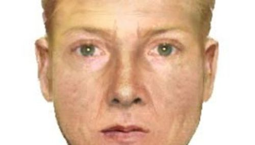 A sketch released of a suspect in the rape of a Dutch backpacker in July, 2012. (Victoria Police)
