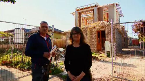 The couple paid Mr Apollonio $280,000 for the build.