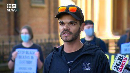 David Dungay Junior's nephew Paul Silva.