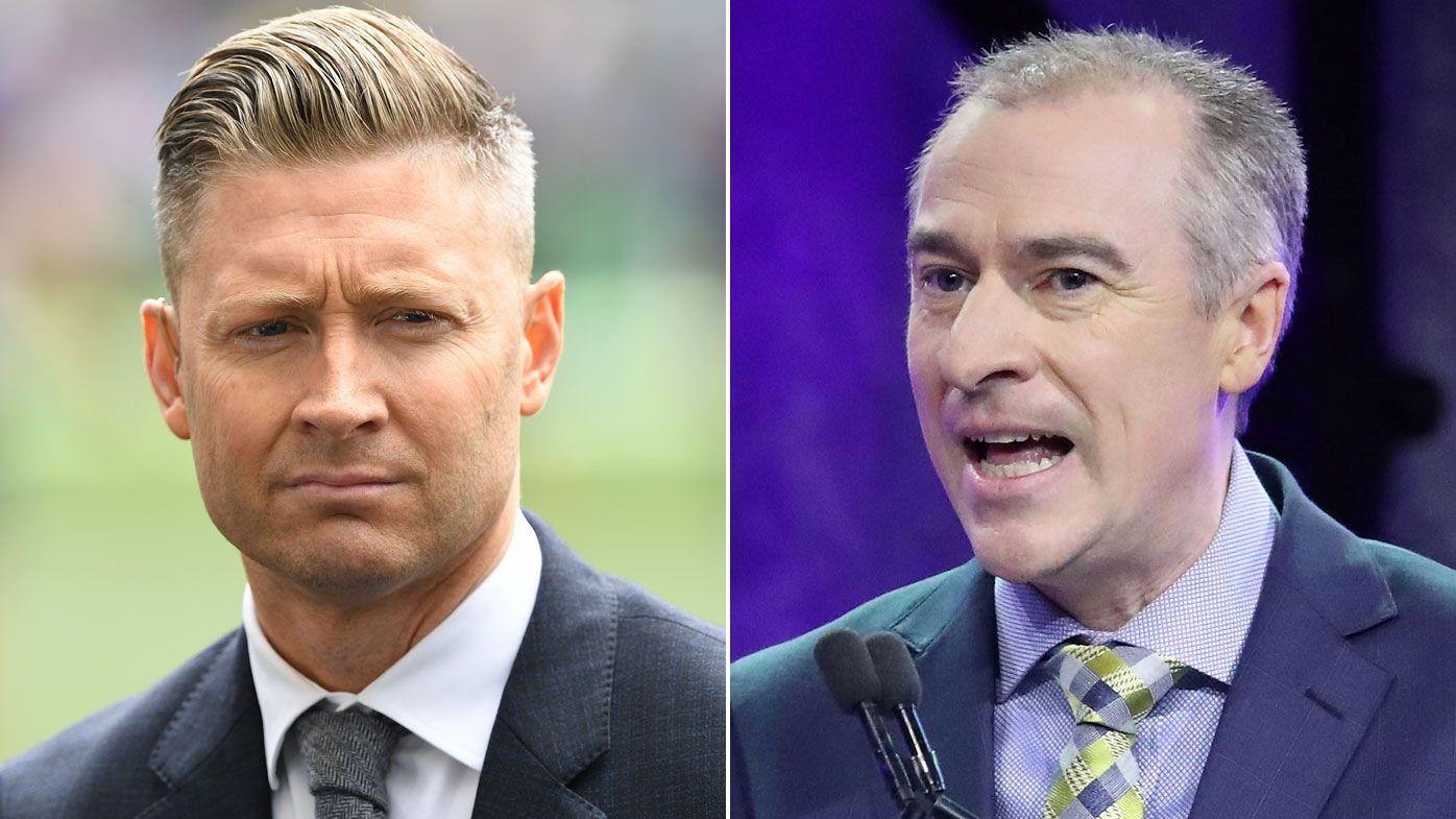 Michael Clarke fires back at Gerard Whateley on Twitter after radio criticism