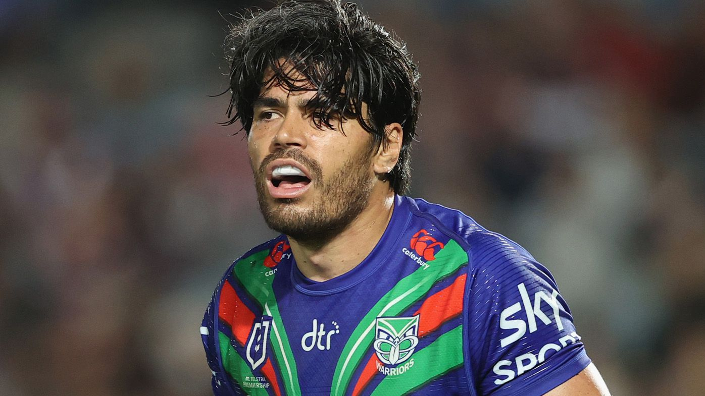Warriors workhorse Tohu Harris out for the season after rupturing an ACL in Panthers clash