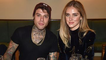 Fedez, pictured with wife Chiara Ferragni, has alleged that a TV executive asked him to omit the names of politicians he planned to criticise during his concert performance.